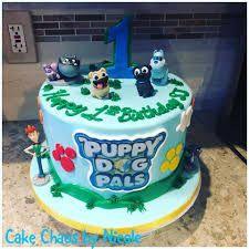 Image Result For Puppy Dog Pals Birthday Puppy Cake Dog Birthday Cake Birthday Party Cake