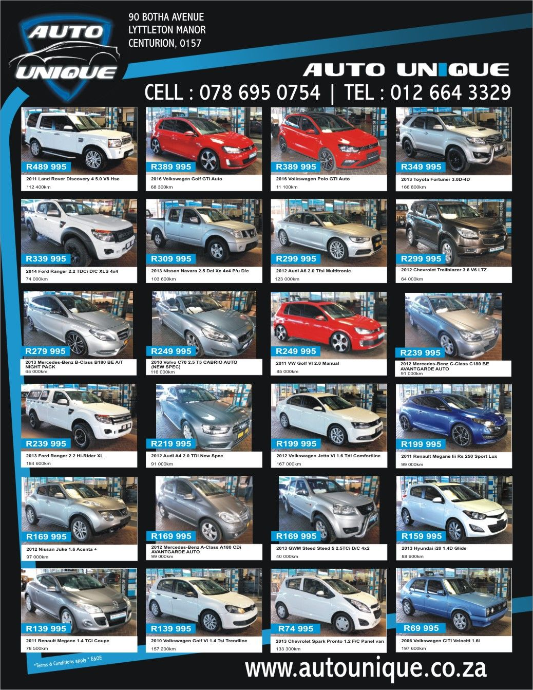 Great deals on offer this month Auto Unique! Don't