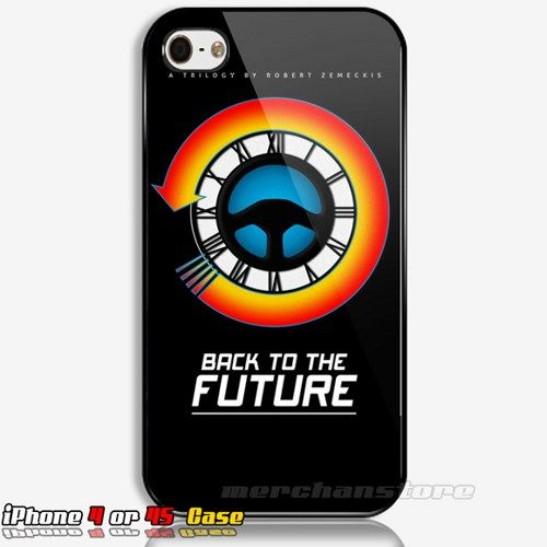 Back To The Future Analog Custom iPhone 4 or 4S Case | Merchanstore - Accessories on ArtFire