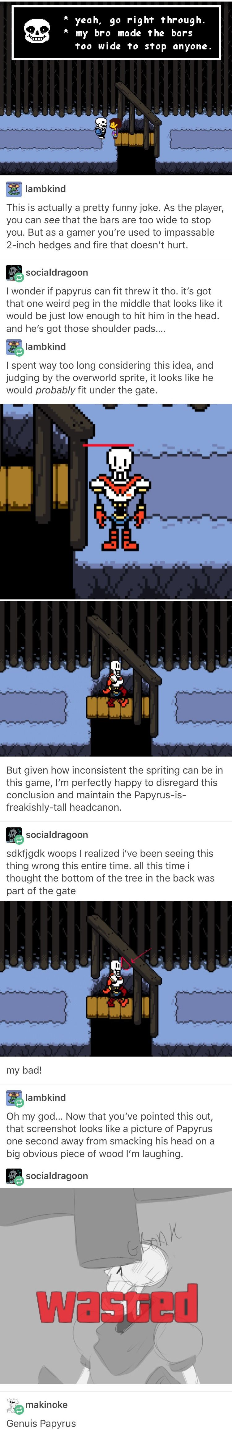 Undertale, Sans, Papyrus, Tumblr, Funny, Video Games