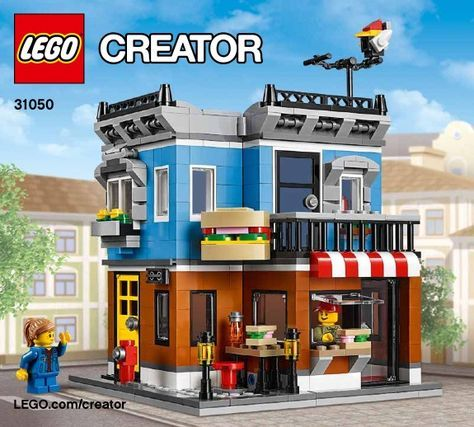 View Lego Instructions For Corner Deli Set Number 31050 To Help You