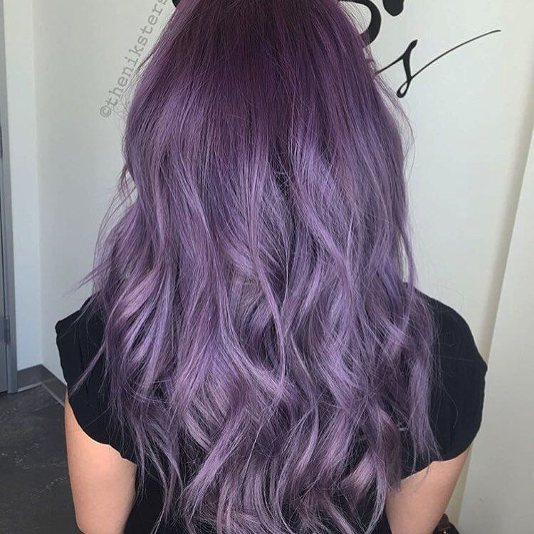 15 Pictures Featured In 2020 Light Purple Hair Aesthetic Hair Purple Hair