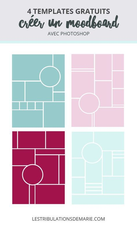 cr er un moodboard conseils astuces et templates. Black Bedroom Furniture Sets. Home Design Ideas