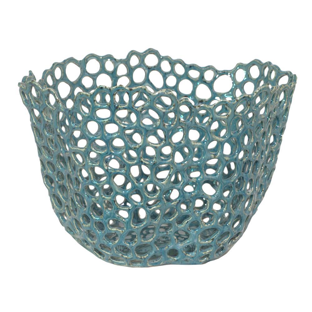 Blue ceramic bowl decorative bowls blue ceramics