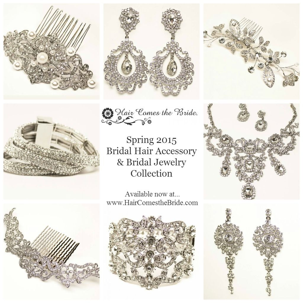 Spring bridal hair accessories u jewelry collection