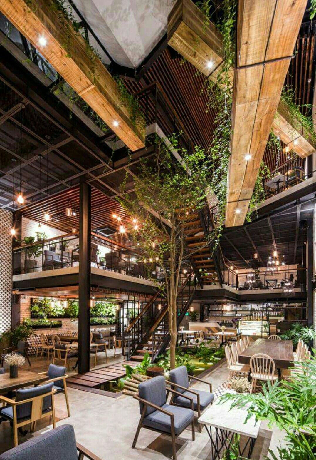 Oh my gosh I'd be in plant heaven Garden cafe, Coffee