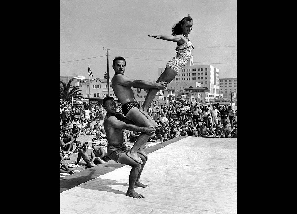 vintage everyday: Muscle Beach – Interesting Vintage Photos Show ...