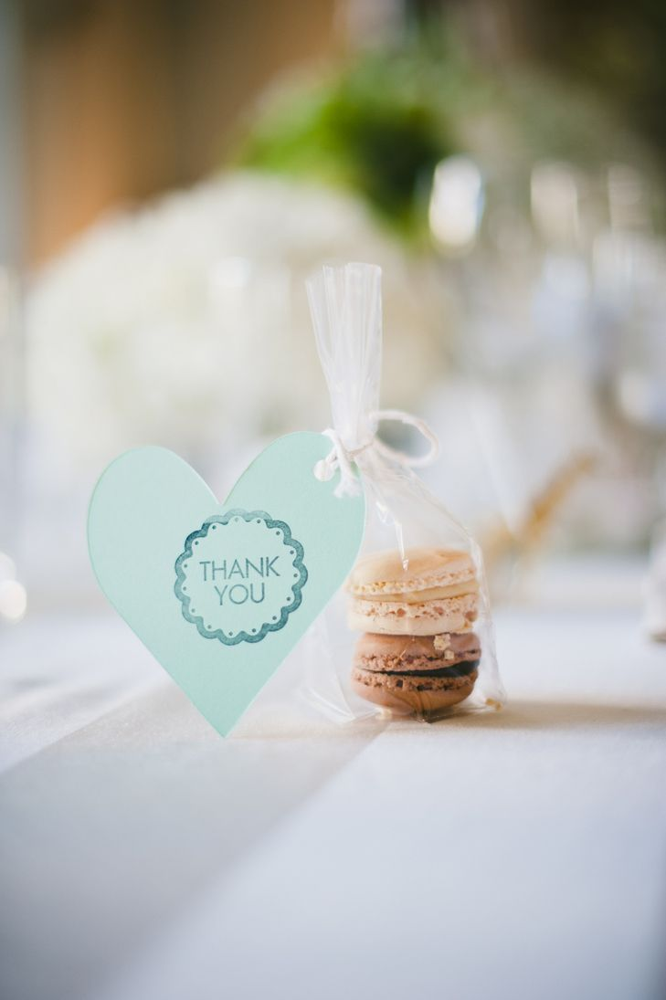 Macaron Wedding Favors | Onelove Photography | https://www.theknot ...