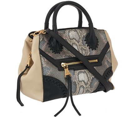 Equipped with a place for everything and everything in its place, this Aimee Kestenberg satchel knows a thing or two about organization. Multiple compartments, pockets, and carrying options make it a good bag. Add to that its sleek silhouette and it now has all the makings of being great. From Aimee Kestenberg. QVC.com