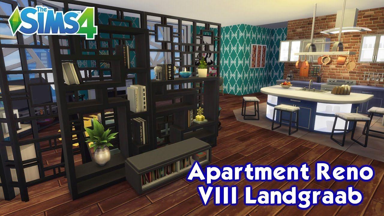 The Sims 4 City Living Vintage Glamour Apartment Reno Viii Landg