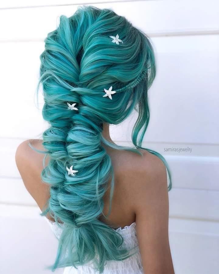 A hair post.