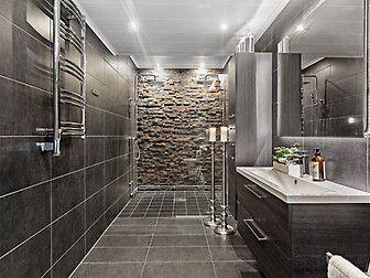 Arbeitsplatte Badezimmer ~ Badezimmer bilder arbeitsplatte beton optik holz schrank regale
