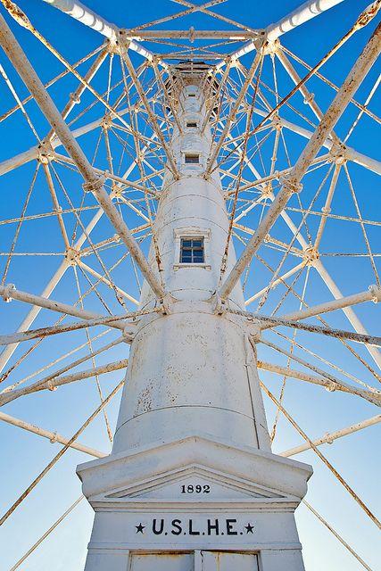 Cape Charles Lighthouse on Smith Island, Virginia by Crash758
