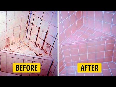 Natural Solution To Clean Bathroom Tile Forever