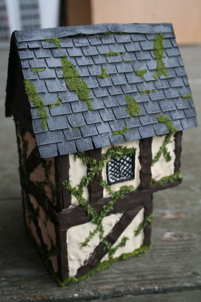 Miniature Tudor House - made by Jessica Armstrong