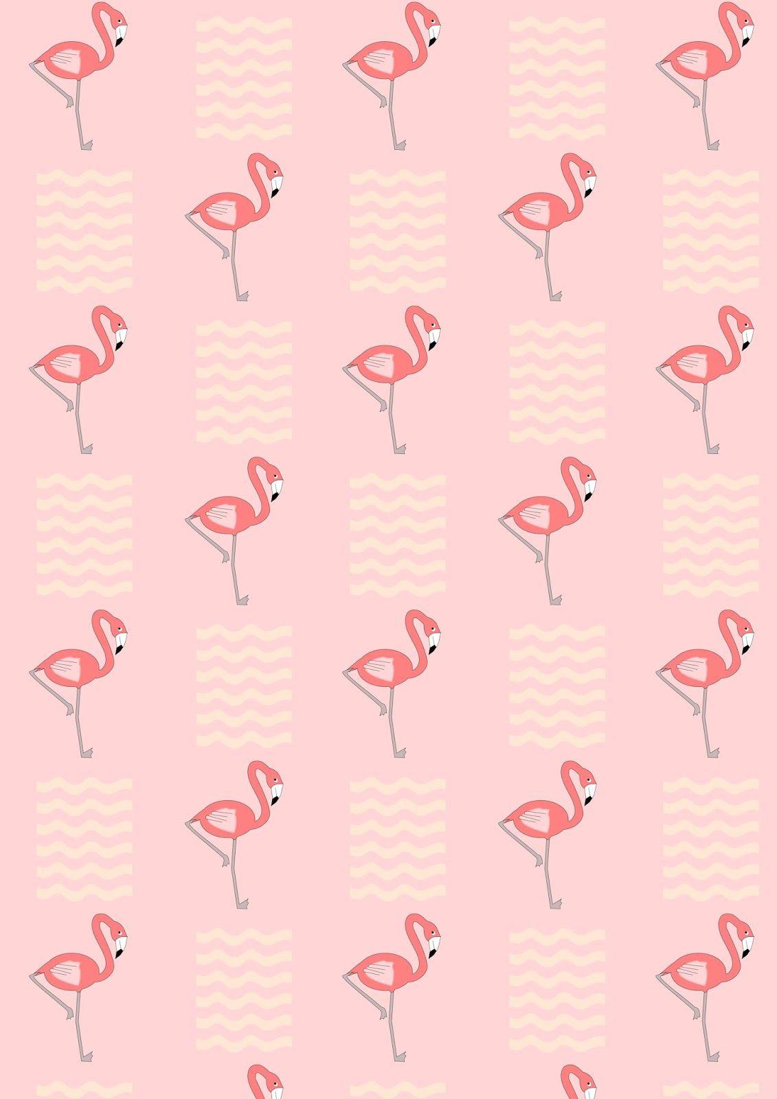 Free Printable Flamingo Pattern Paper Free Printables