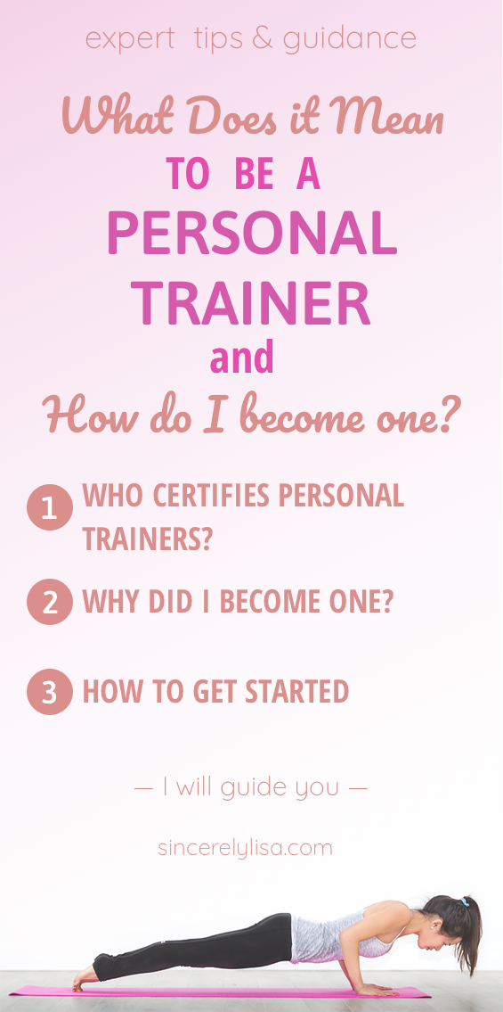 What does it mean to be a certified personal trainer and how to be ...