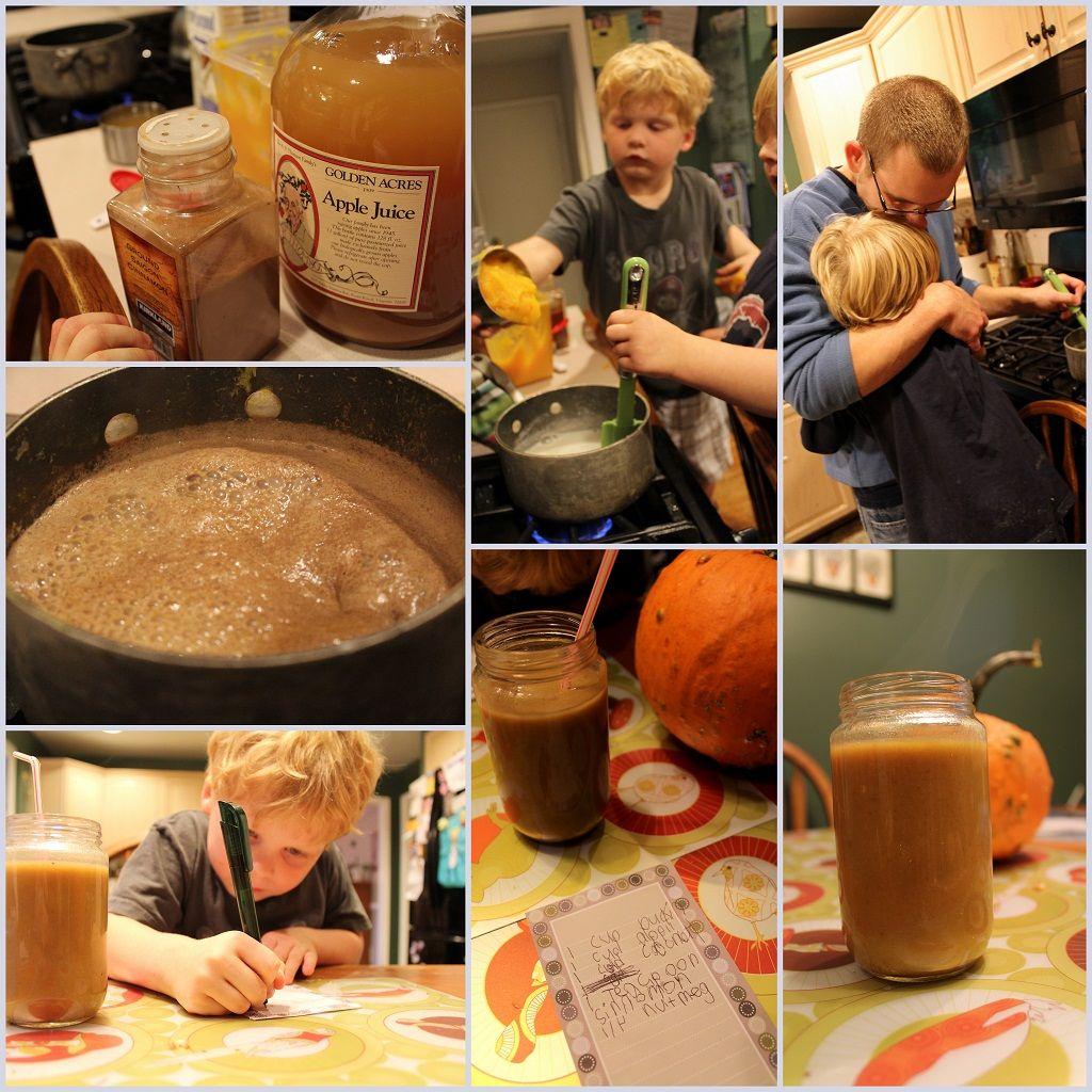 The Paleo Parents Share A Recipe For A Pumpkin Spice Latte