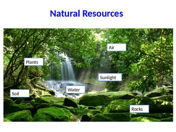 Natural Resources Vs Manmade Resources Powerpoint Natural Resources Nature Powerpoint