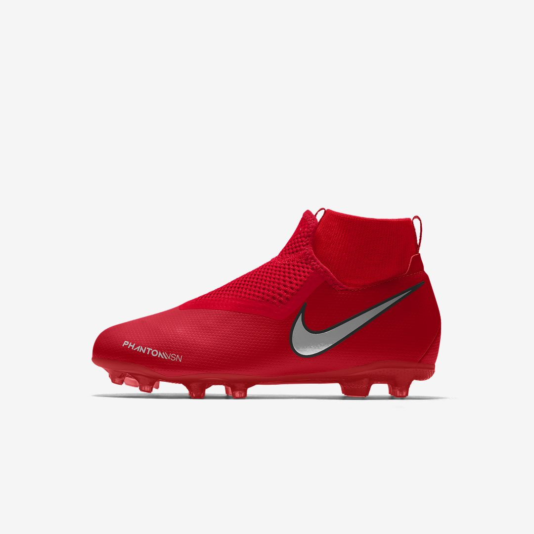 Nike Phantom Vision Academy Jr Mg By You Big Kids Multi Ground Soccer Cleat Size Soccer Cleats Nike Soccer Shoes Soccer Boots