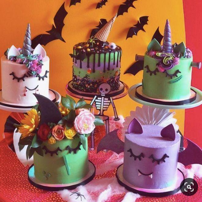 Top 20 des plus beaux gâteaux licorne dHalloween, repérés sur Pinterest
