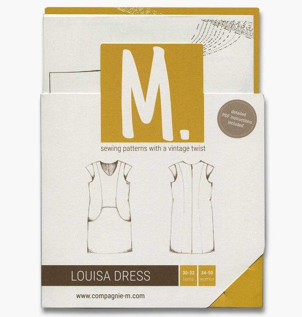 The Louisa Dress (teens/women) paper pattern | Compagnie-M