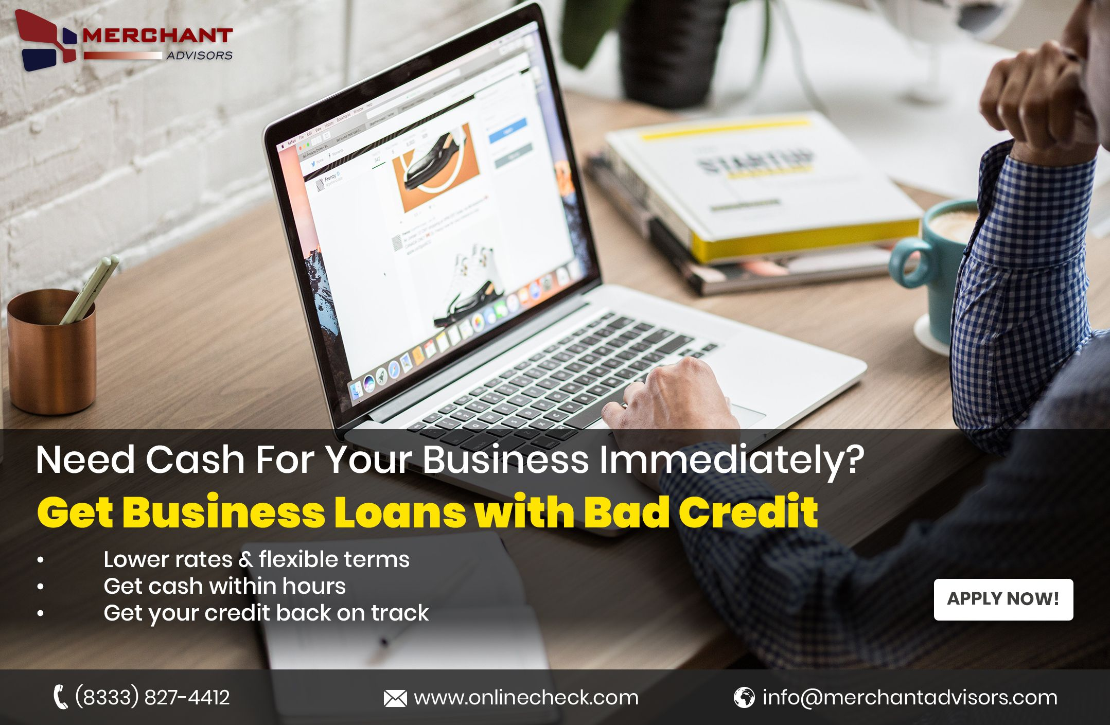 Business Loans With Bad Credit A Better Option Business Loans Loans For Bad Credit Bad Credit