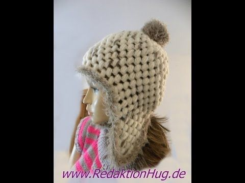 Häkeln - Mütze mit Ohrenklappen aus Feeling und Fur von ONline-Garne ...