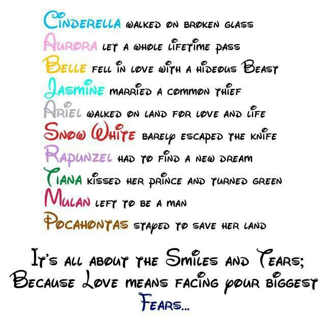 Disney Princess Citations Princesse Disney Citation Princesse