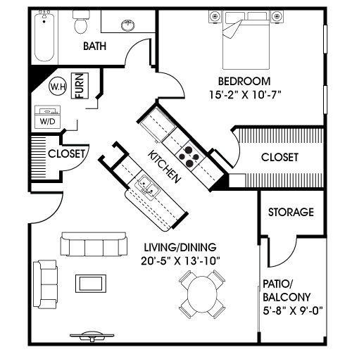 Garage In Law Suite Garage Conversion Blueprints And Plans Pinterest House Plans Tiny House Plans House Floor Plans