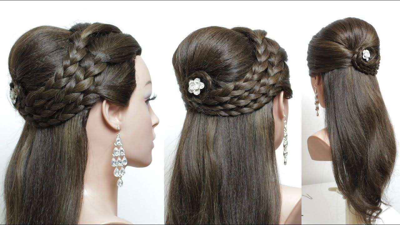 Beautiful Hairstyles With Puff: Easy Party Hairstyles # ...