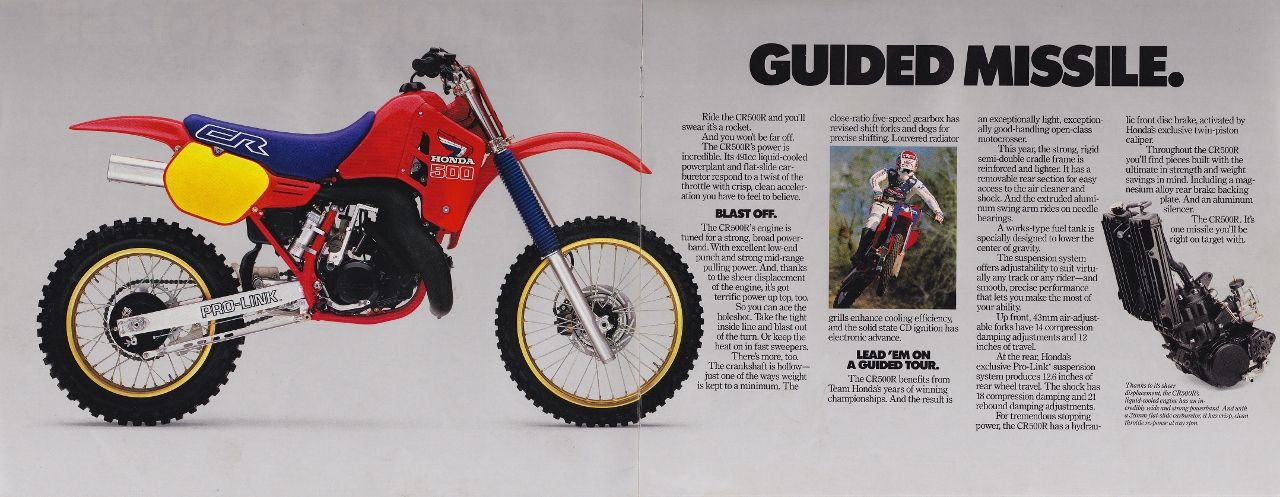1986 1987 Honda XR 250 R Number Plate Decal Kit AHRMA