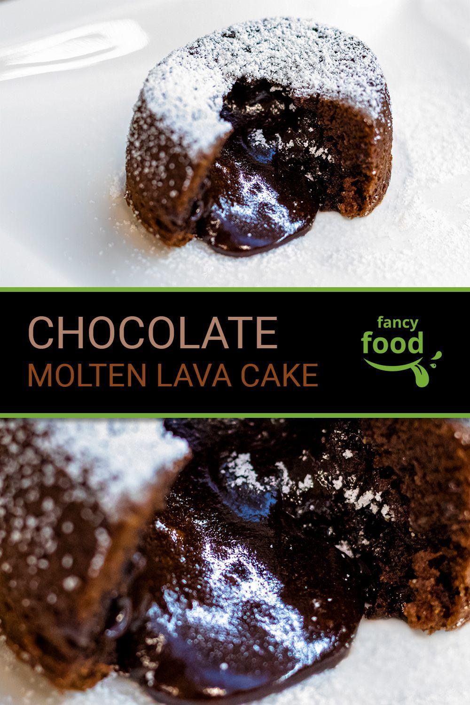 Chocolate Molten Lava Cake | fancy food