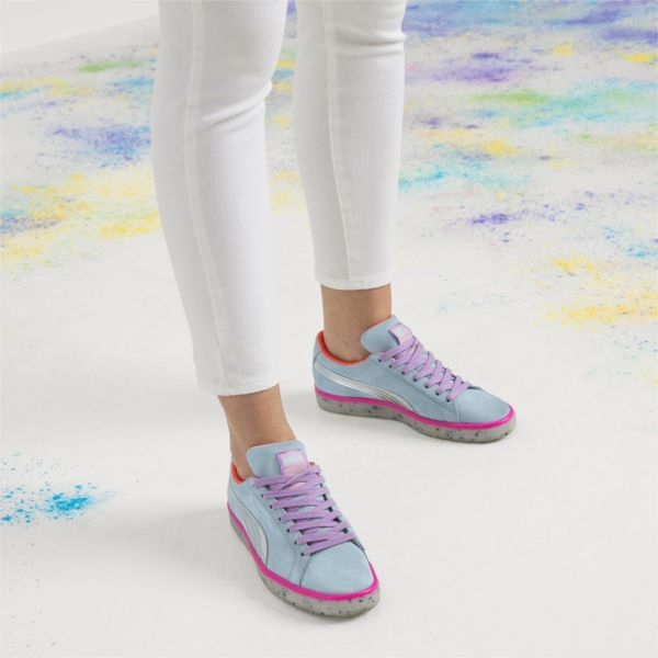 Image 4 of PUMA x SOPHIA WEBSTER Suede Candy Princess Women s Sneakers 569c65aca