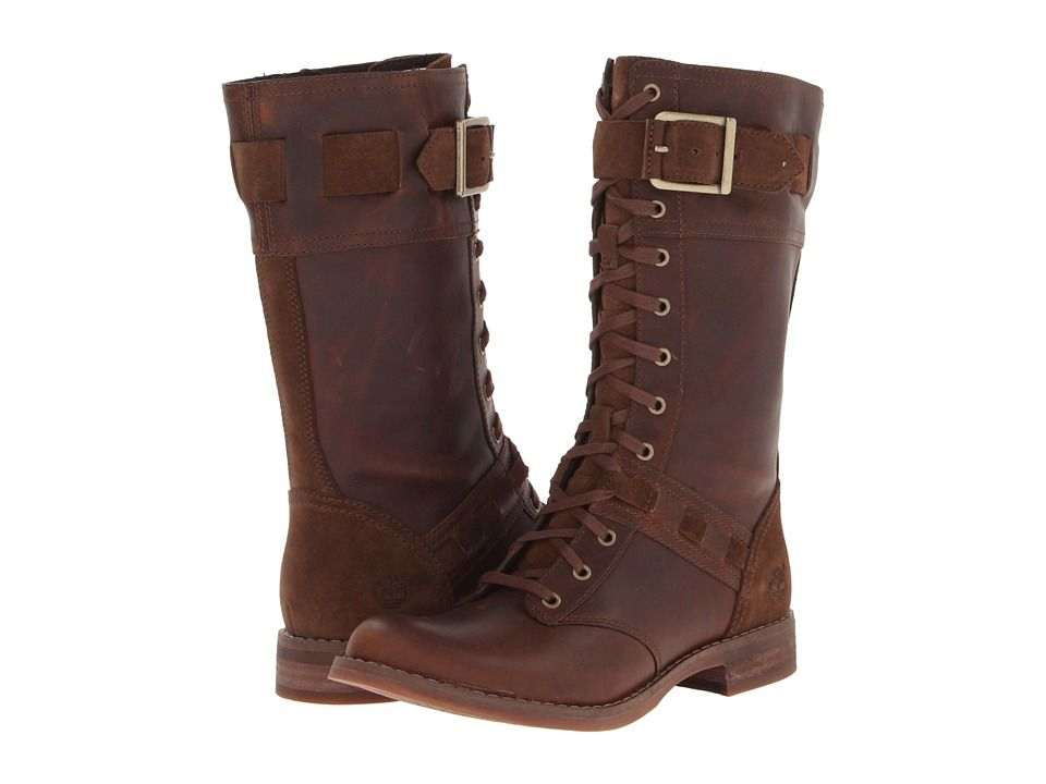 Timberland Earthkeepers® Savin Hill Mid Boot Tobacco Forty Leather - size i  am unsure of;