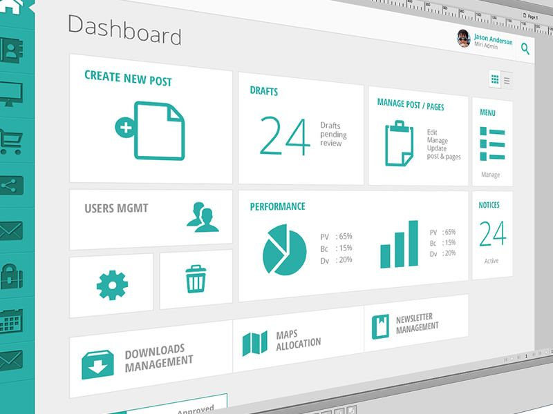 Metro push admin malaysia interface design and ui ux for App layout design software
