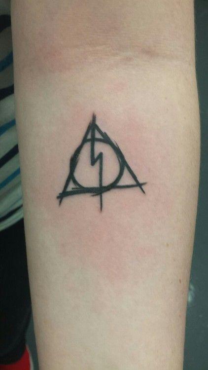 Reliquias De La Muerte Tattoo Ideas Pinterest Primer Tatuaje