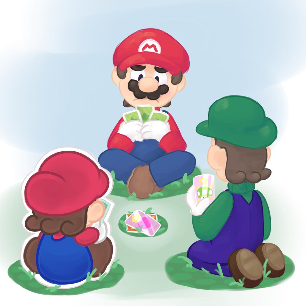 Mario And Luigi Paper Jam Fan Art Mario And Luigi Super Mario
