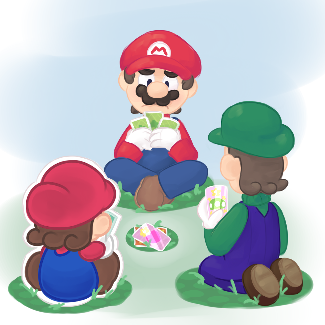 Jam Zeke: Mario And Luigi: Paper Jam Fan Art (With Images)