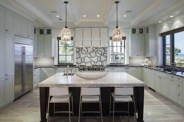 Coastal Kitchen Allison Paladino Interior Design Beach House
