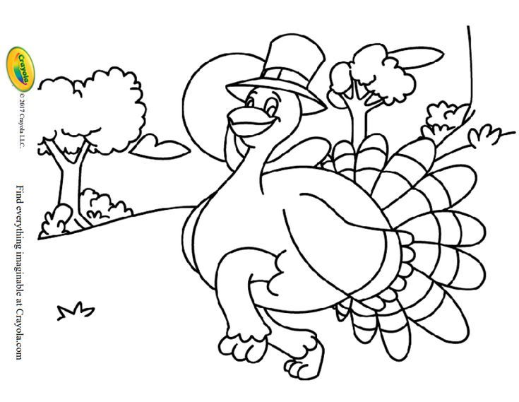 217 Free, Printable Thanksgiving Coloring Pages
