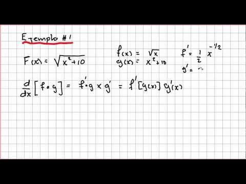 Regla De La Cadena Regla De La Cadena Calculo Diferencial E Integral Matematica Ejercicios