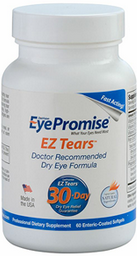 Although it is easy to pick up artificial tears or soothing drops at the drugstore, to help relieve dry eyes, they do not support long-term eye health or future protection against the condition.