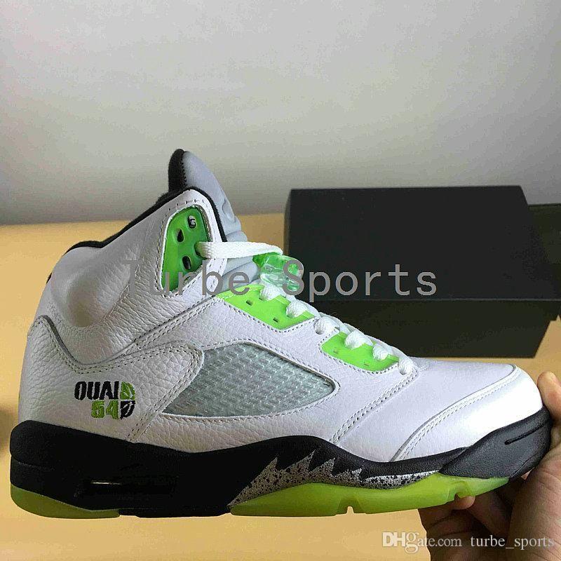 014c30ce4f3 2018 New Classic 5 5s Quai54 Limited Edition Mens Basketball Shoes Sport  for Men Paris Streetball