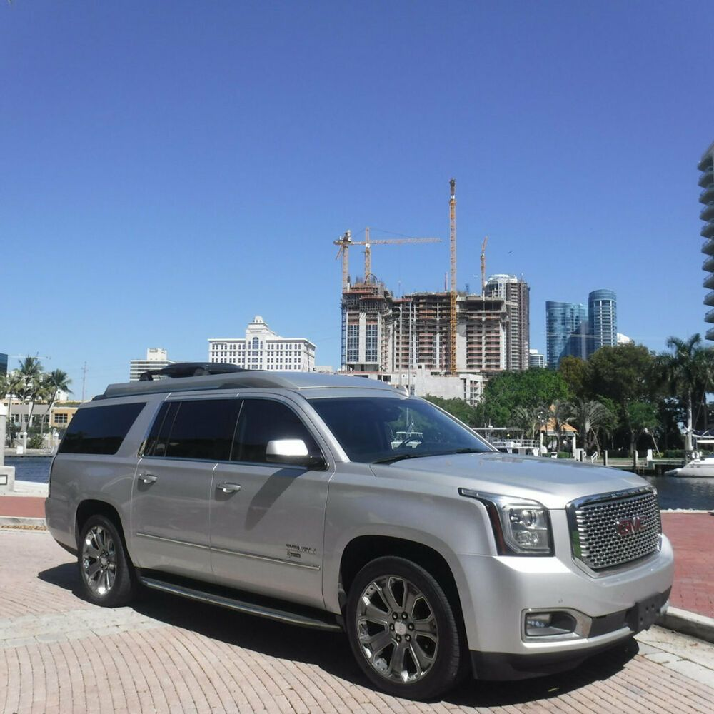 Ebay Advertisement 2015 Gmc Yukon Xl Executive 4x4 Limo Florida