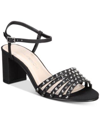 7ebe2ac04c6 Caparros Plaza Embellished Evening Sandals - Black 6.5M in 2019 ...