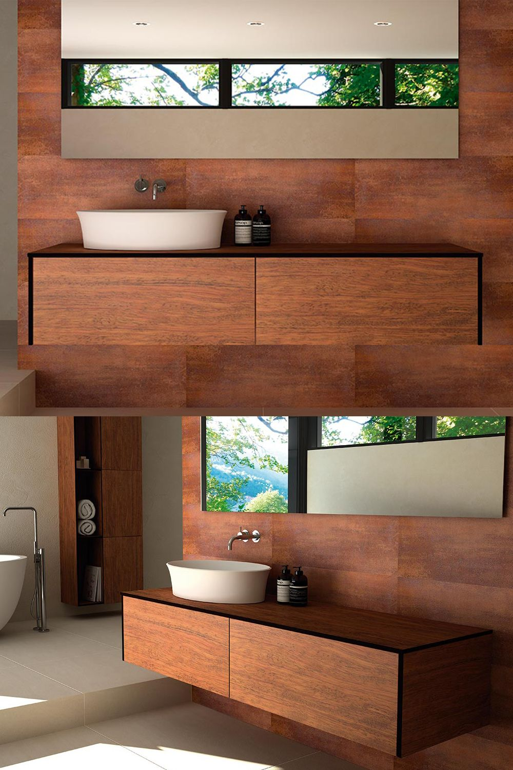 Size Length 100cm To 180cm Width 45cm Height 30cm Incl Brackets Cabinet With The Elegance Of Natural Wood Designed With Respect For Nature And Healt Banyo
