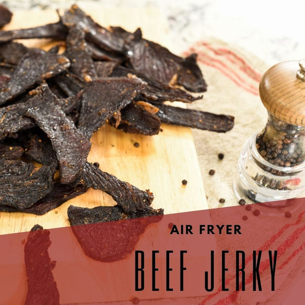 Air Fryer Beef Jerky in 2020 Beef jerky, Air fryer, Beef