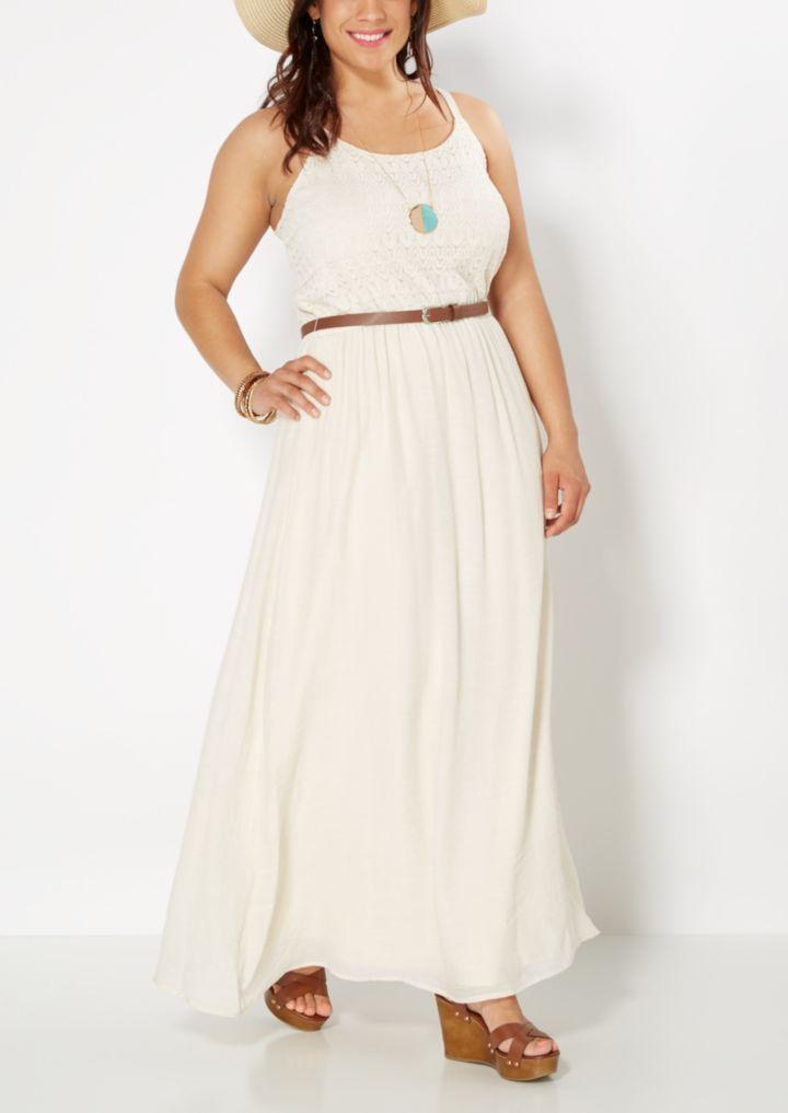 Plus Fairy Folk Maxi Dress | Plus Maxi Dresses | rue21