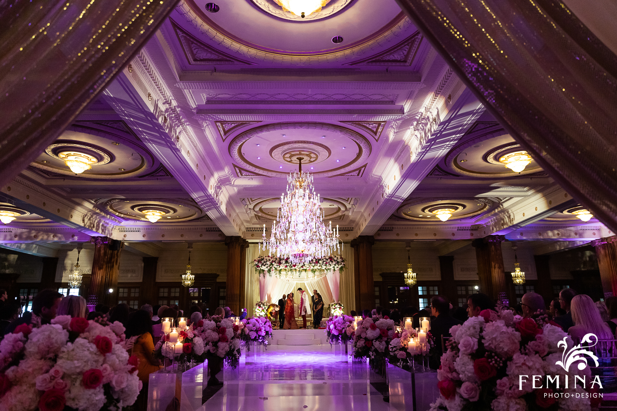 Crystal Tea Room Wedding In Philadelphia Trisha Maxim In 2020 Tea Room Photo Design Philadelphia Wedding